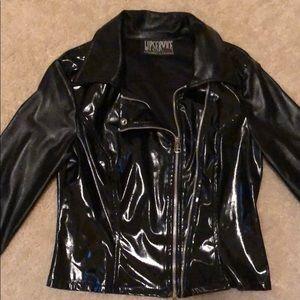 Lip Service Vinyl Motorcycle Jacket